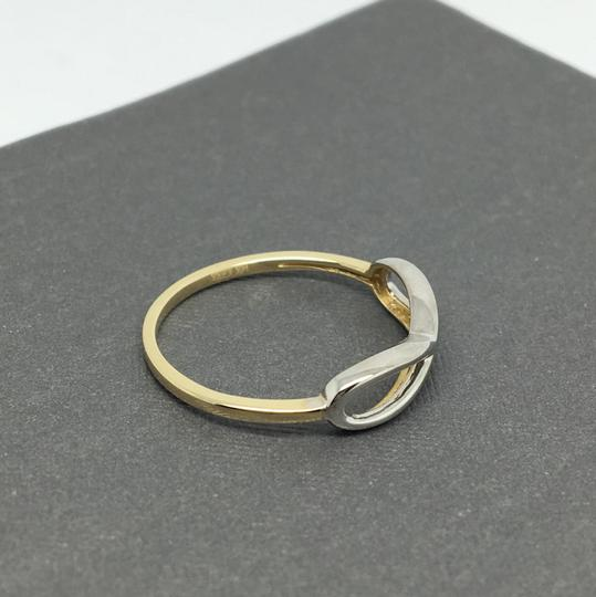 Other 14K Two-Tone Gold Infinity Sign Ring