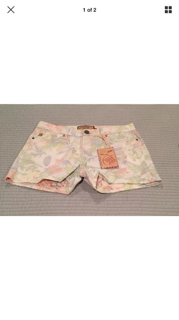 Dear John Denim Mini/Short Shorts Floral