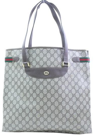 Preload https://img-static.tradesy.com/item/23295868/gucci-web-gg-supreme-large-866696-brown-coated-canvas-tote-0-1-540-540.jpg