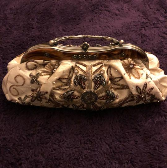Fashion Bag Gold Clutch