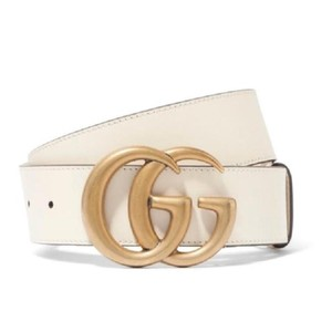 Gucci Gucci Double G Marmont Leather Belt