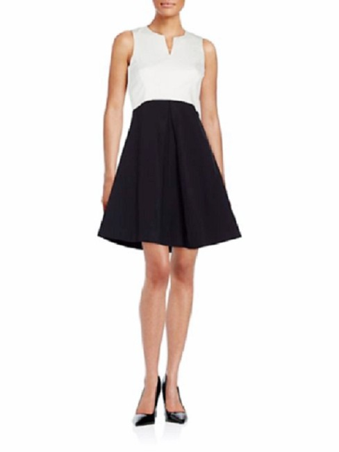 Preload https://img-static.tradesy.com/item/23296021/halston-black-and-white-sleeveless-two-tone-blackivory-fit-and-flare-short-cocktail-dress-size-6-s-0-0-650-650.jpg