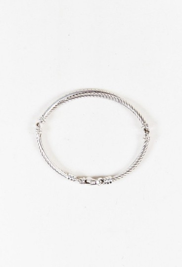David Yurman David Yurman Crossover Bracelet with Diamonds