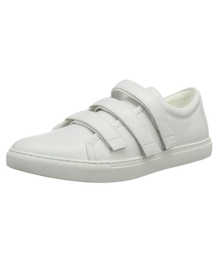 Kenneth Cole Sneaker Fashion Velcro Casual White Athletic