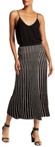 Helmut Lang Knee Length Work Fancy Stripe Skirt