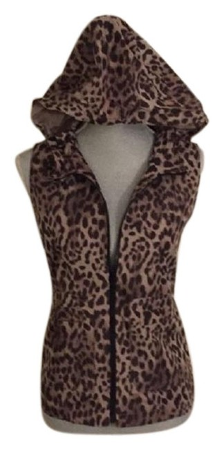Preload https://img-static.tradesy.com/item/23296214/vince-camuto-brown-black-two-by-leopard-print-hooded-cargo-vest-size-10-m-0-3-650-650.jpg