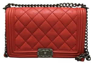 Chanel New Medium Calfskin Shoulder Bag