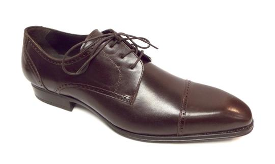 Mezlan Brown Leather Cap Toe Oxfords Men's 12 Shoes