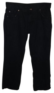 Blue Jeans Boot Cut Jeans-Dark Rinse
