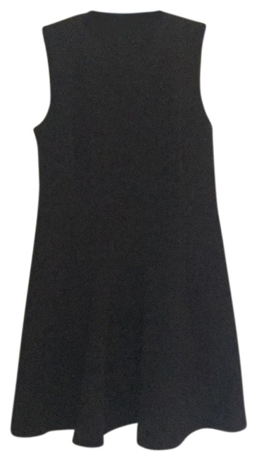 Preload https://img-static.tradesy.com/item/23296818/madewell-black-fit-and-flare-short-cocktail-dress-size-8-m-0-1-650-650.jpg