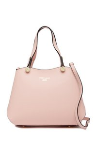 Persaman New York Leather Satchel in Pale Pink