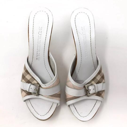 Burberry plaid pink Mules