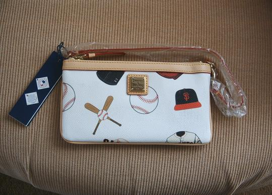 Dooney & Bourke Wristlet in White