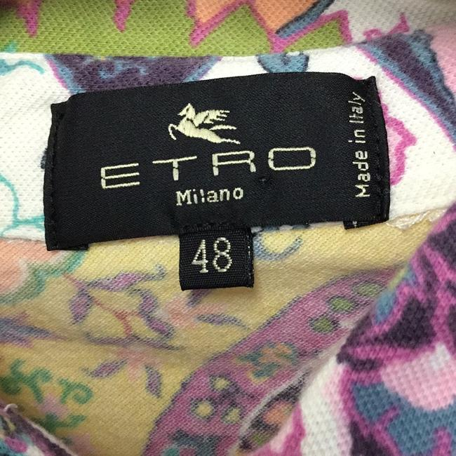 Etro Button Down Shirt Pink