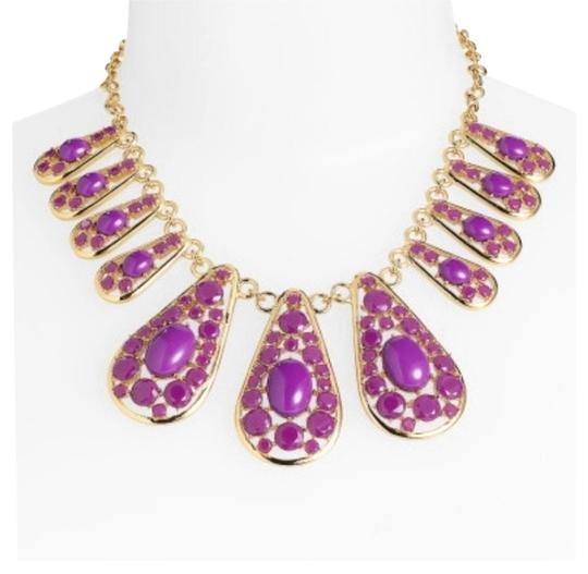 Preload https://item3.tradesy.com/images/kate-spade-kate-spade-new-york-paisley-park-purple-short-necklace-2329717-0-2.jpg?width=440&height=440