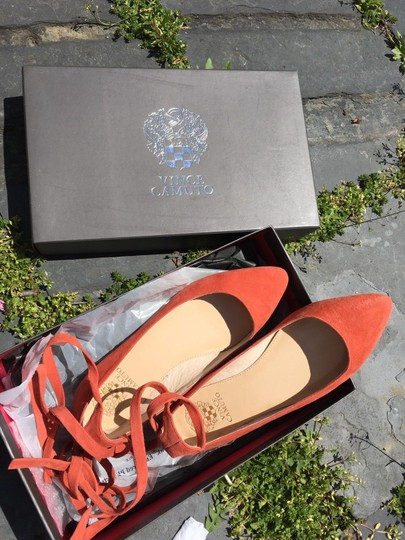 Vince Camuto Papaya orange Flats