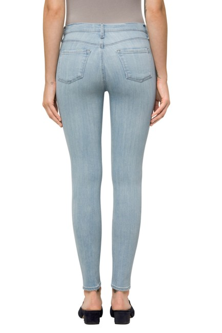 J Brand Straight Leg Jeans-Light Wash