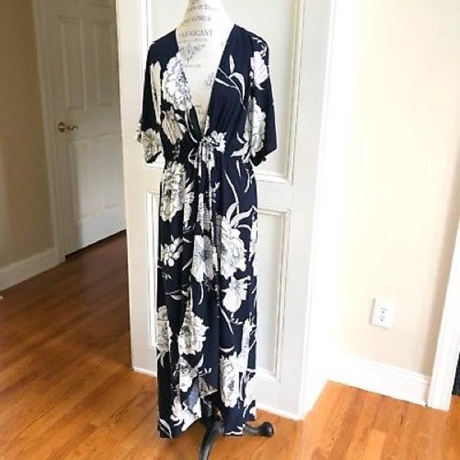 Navy Maxi Dress by Love In
