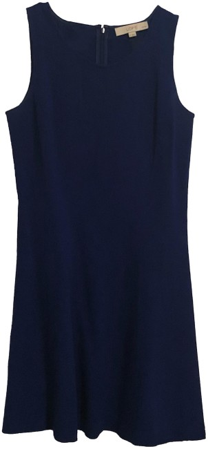 Preload https://img-static.tradesy.com/item/23297406/ann-taylor-loft-blue-knit-short-workoffice-dress-size-petite-6-s-0-1-650-650.jpg