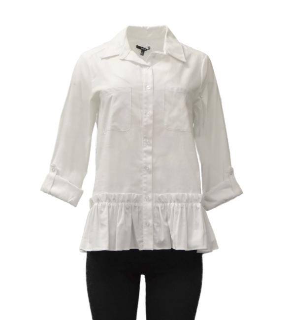 Preload https://img-static.tradesy.com/item/23297409/drew-white-owen-shirt-button-down-top-size-2-xs-0-0-650-650.jpg