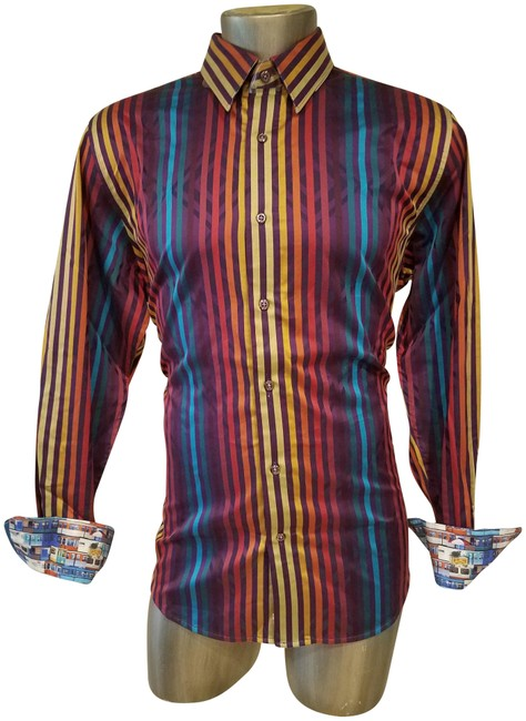 Preload https://img-static.tradesy.com/item/23297425/robert-graham-multicolor-man-striped-cotton-shirt-button-down-top-size-18-xl-plus-0x-0-1-650-650.jpg