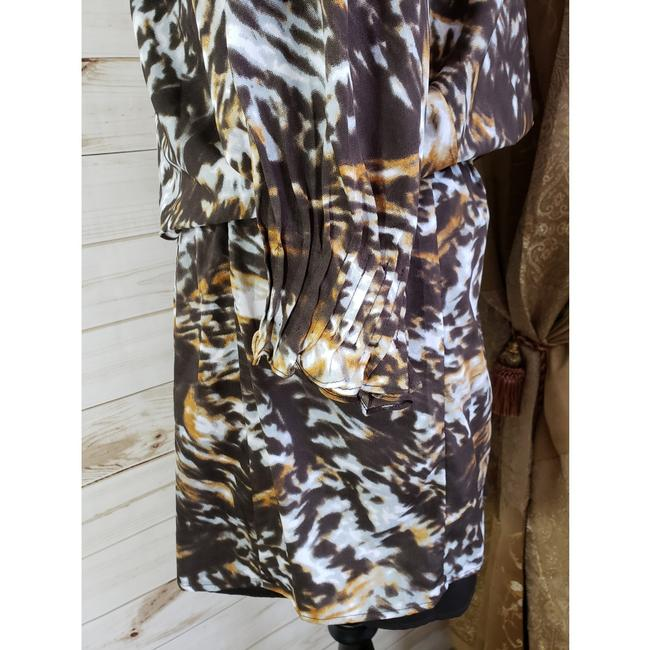 W118 by Walter Baker short dress Animal Print Mini on Tradesy
