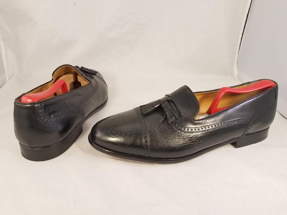 b146ddef844 Mezlan Black Man Havana Tassels Loafers Slip On Captoe Formal Shoes ...