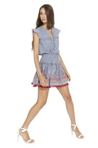 MISA Los Angeles short dress BABY BLUE on Tradesy