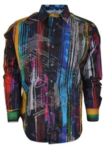 Robert Graham Shirt Men's Shirt Button Down Shirt Kaler