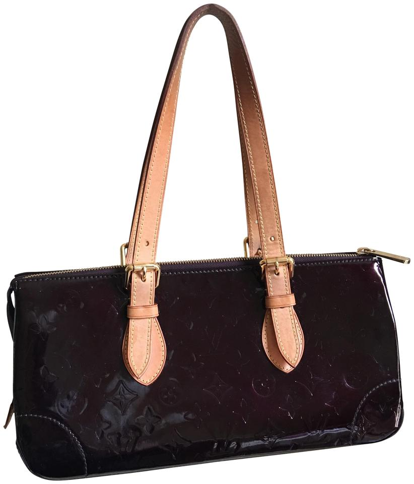 86935d9bc177 Louis Vuitton Rosewood Vernis Ave Amarante Patent Leather Tote - Tradesy