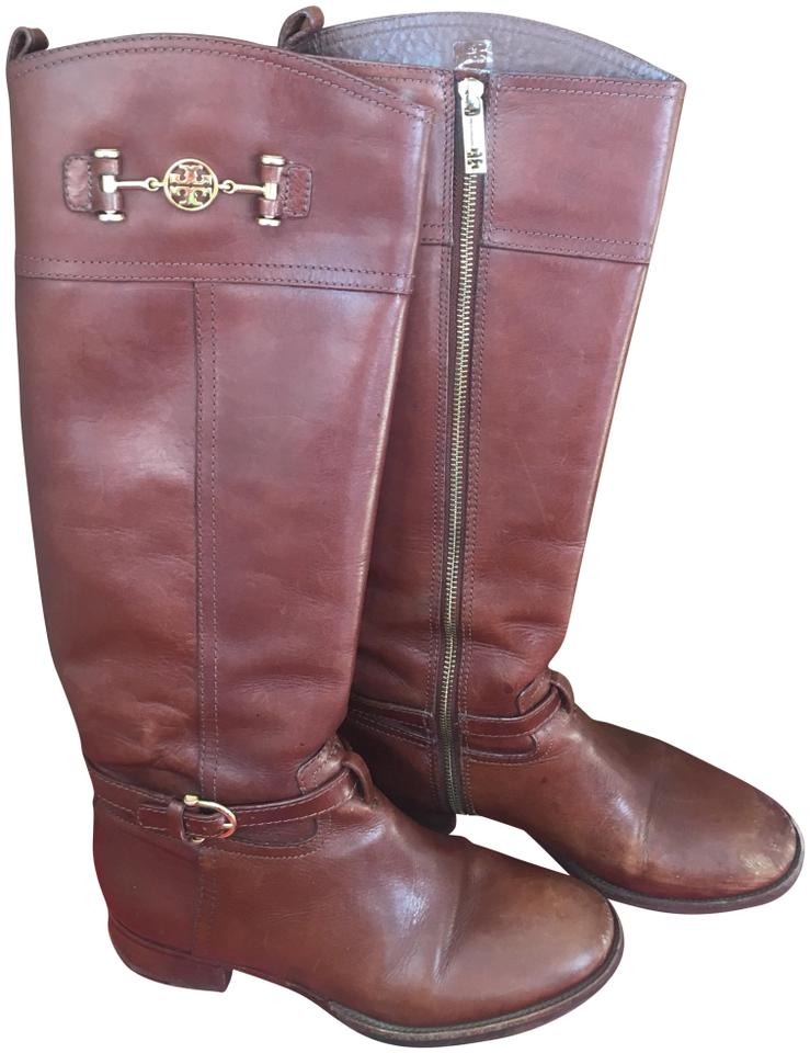 Tory Burch # Brown (Sienna) 22128343 Style # Burch Boots/Booties 874bb4