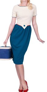 Tatyana Retro Vintage Pin-up Nautical Dress