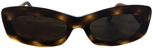 Chanel Brown Tortoise Frame Quilted Sunglasses 5006