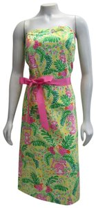 Lilly Pulitzer short dress multicolor Sienna Print Floral on Tradesy