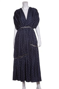 Gabriela Hearst short dress Navy on Tradesy