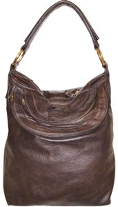 Le'Bulga Refurbished Leather Lined Euc Extra-large Hobo Bag