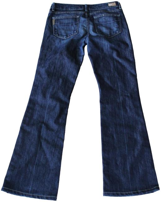 Item - Blue Dark Rinse Laurel Canyon Boot Cut Jeans Size 27 (4, S)
