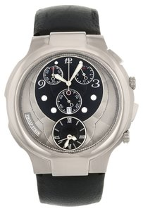 Philip Stein Philip Stein Chrono 9-CRB3-CB Stainless Steel Quartz Men's Watch