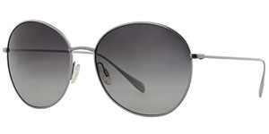 d4f33799e04 Oliver Peoples OV1102ST BLONDELL SILVER TITANIUM POLARIZED UNISEX SUNGLASSES   395