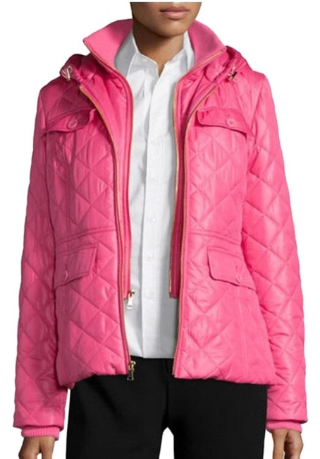 Item - Pink Packable with Bow Coat Size 12 (L)
