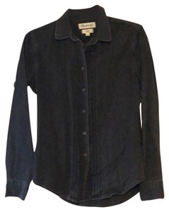 Madewell Button Down Shirt Washed Black