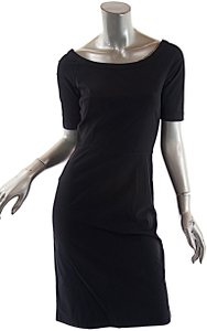 Prada short dress Black Cotton Blend on Tradesy