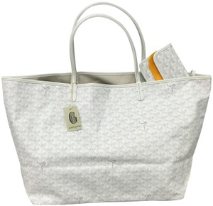 Goyard Saint Louis St Louis Gm Tote in White