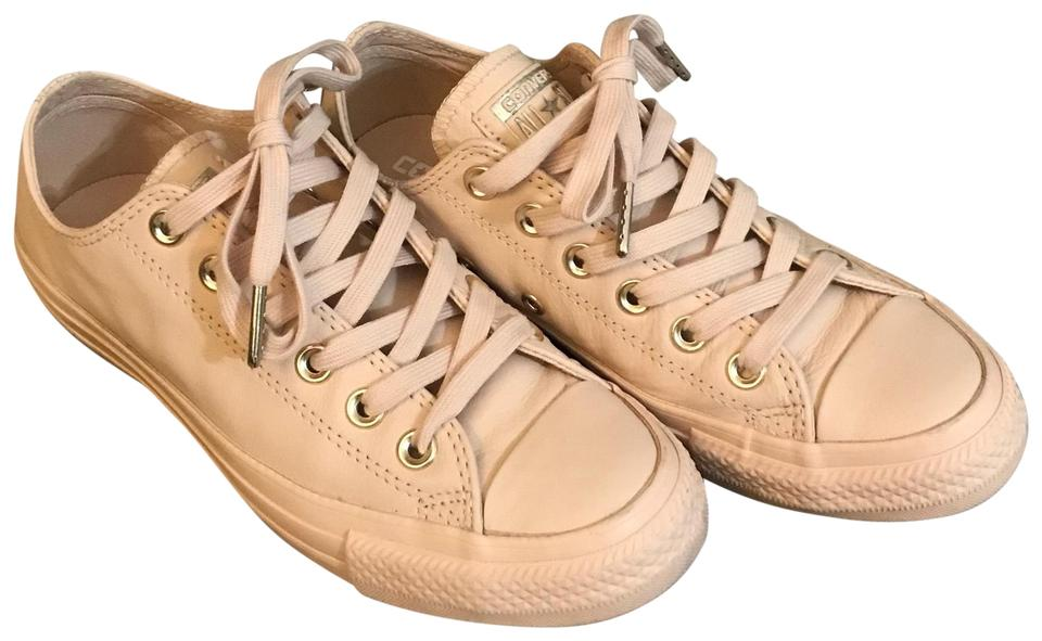 Converse Ivory Cream Chuck Taylor All Star Blush Lo Leather Sneaker Sneakers Size US 6.5 Regular (M, B)