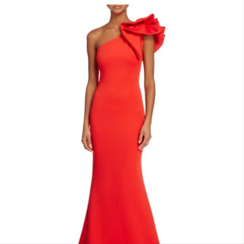 Red Ag325 Long Formal Dress Size 0 (XS) -