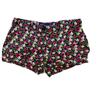 Miley Cyrus & Max Azria Dress Shorts Black with Floral Print Pink, Yellow, etc