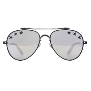 Givenchy NEW Givenchy Sunglasses GV7057/S Star Mirrored Silver Aviator