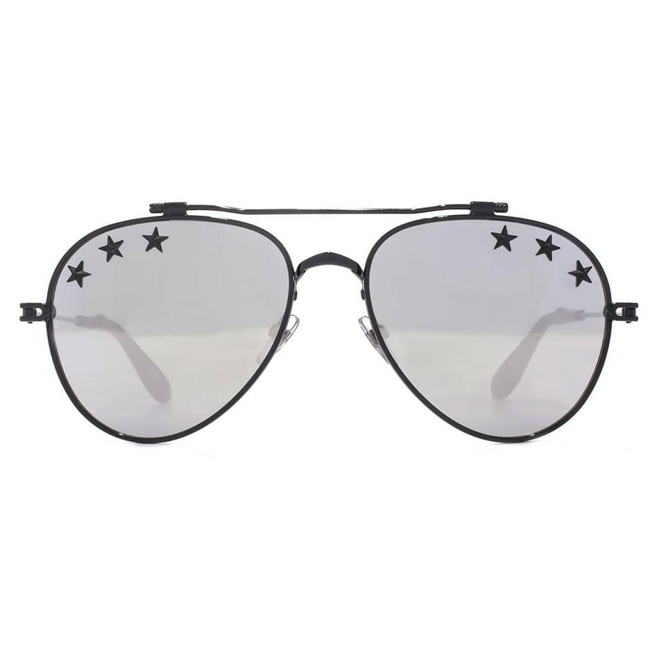 a8d65b372f Givenchy NEW Givenchy Sunglasses GV7057 S Star Mirrored Silver Aviator  Image 0 ...