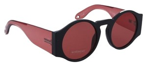 Givenchy NEW Givenchy Sunglasses Gv 7056/S Round Black Red Lens Circle