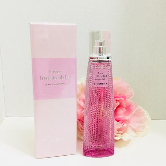 Givenchy LIVE IRRESISTIBLE BLOSSOM CRUSH BY GIVENCHY PARFUM FOR WOMAN 2.5 FL.OZ/75ML~ NEW Image 1
